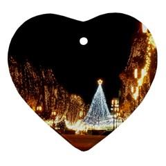 Christmas Deco Ceramic Ornament (Heart)