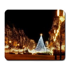 Christmas Deco Large Mouse Pad (Rectangle)