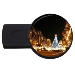 Christmas Deco 2Gb USB Flash Drive (Round)