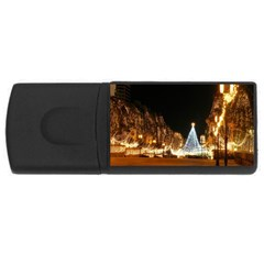 Christmas Deco 2Gb USB Flash Drive (Rectangle)
