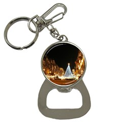 Christmas Deco Key Chain with Bottle Opener