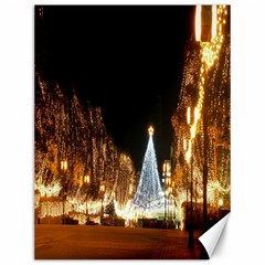 Christmas Deco 12  X 16  Unframed Canvas Print
