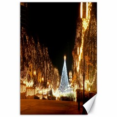 Christmas Deco 12  X 18  Unframed Canvas Print