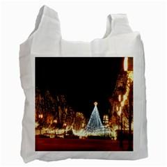 Christmas Deco Twin-sided Reusable Shopping Bag