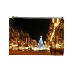 Christmas Deco Cosmetic Bag (large)