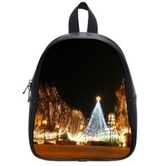 Christmas Deco Small School Backpack
