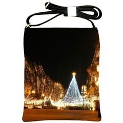 Christmas Deco Cross Shoulder Sling Bag
