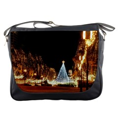 Christmas Deco Messenger Bag