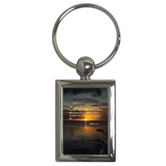 Sunset2 Key Chain (Rectangle)