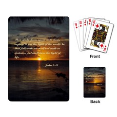 Sunset2 Standard Playing Cards