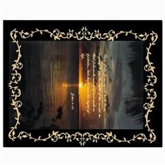 Sunset2 8  x 10  Unframed Canvas Print