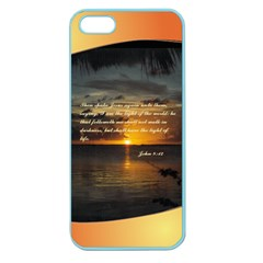 Sunset2 Apple Seamless Iphone 5 Case (color)