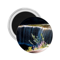 Waterfall Regular Magnet (round)