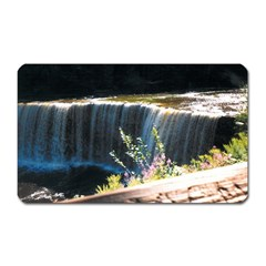 Waterfall Large Sticker Magnet (Rectangle)