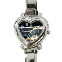 Waterfall Classic Elegant Ladies Watch (Heart)