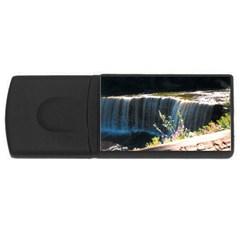 Waterfall 4gb Usb Flash Drive (rectangle)