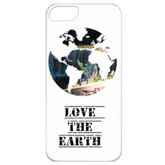 <3 Earth Apple iPhone 5 Classic Hardshell Case