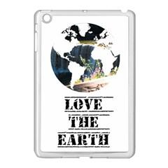 <3 Earth Apple iPad Mini Case (White)