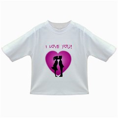I Love You Kiss Baby T-shirt