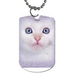 cute cat Twin-sided Dog Tag