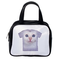 cute cat Single-sided Satchel Handbag