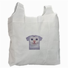 cute cat Single-sided Reusable Shopping Bag