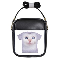 cute cat Kids  Sling Bag