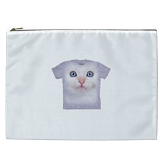 cute cat Cosmetic Bag (XXL)