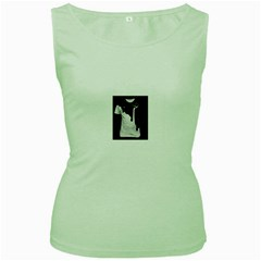 Milky Green Womens  T Shirt