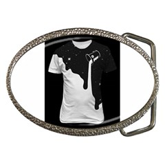 Milky Belt Buckle (Oval)
