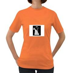 Milky Dark Colored Womens'' T-shirt