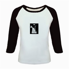 Milky Long Sleeve Raglan Womens'' T-shirt