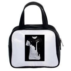 Milky Twin-sided Satchel Handbag