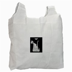 Milky Twin-sided Reusable Shopping Bag