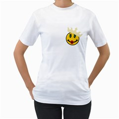awesomesauce White Womens  T-shirt