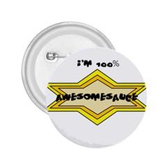 Awesomesauce 2.25  Button