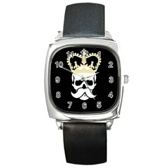 Like a Sir Square Metal Watch