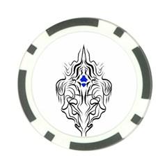 Tribal 10 Pack Poker Chip