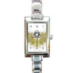 3dsb Rectangular Italian Charm Watch