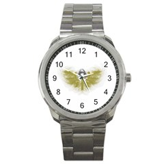 3dsb Stainless Steel Sports Watch (Round)