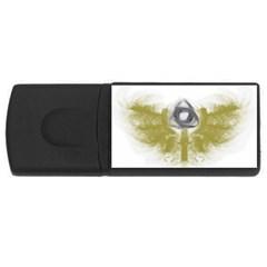 3dsb 4Gb USB Flash Drive (Rectangle)