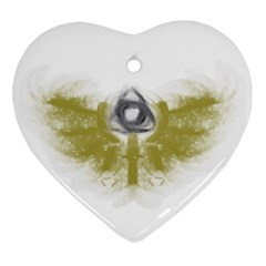 3dsb Heart Ornament (Two Sides)