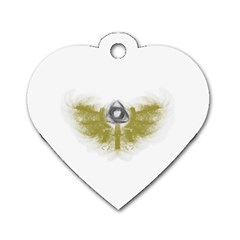 3dsb Twin-sided Dog Tag (Heart)