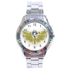 3dsb Stainless Steel Analogue Watch (Round)