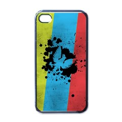 Spread Your Wings Black Apple Iphone 4 Case