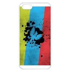 Spread your wings Apple iPhone 5 Seamless Case (White)