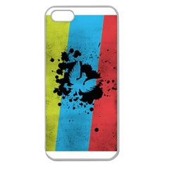 Spread Your Wings Apple Seamless Iphone 5 Case (clear)