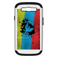Spread your wings Samsung Galaxy S III Hardshell Case (PC+Silicone)