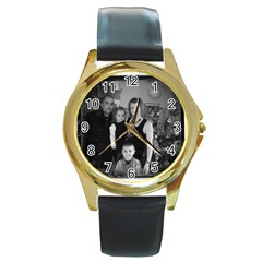 148623_4476105593276_1351410940_n Round Metal Watch (Gold Rim)