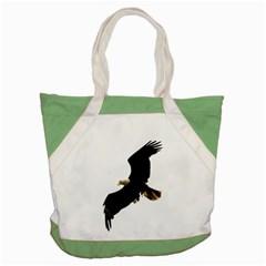 Landing Eagle I Accent Tote Bag